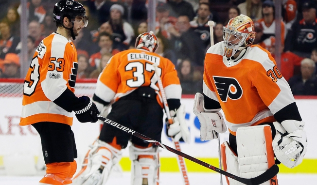 Decision Time for Hextall as Troubles Hit Flyers' Net