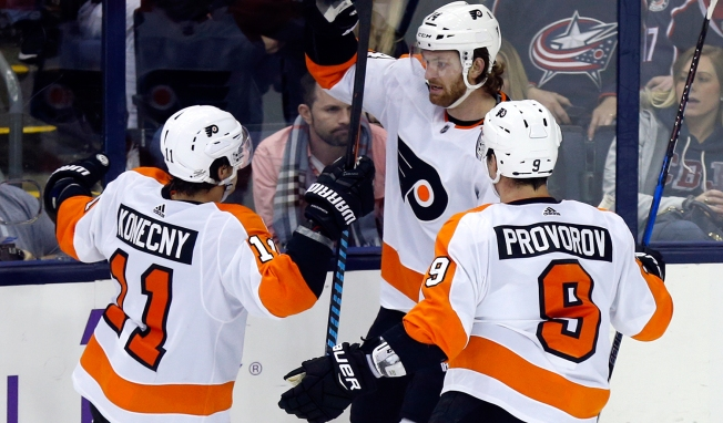 Flyers Exorcise Some Demons Thanks to Sean Couturier