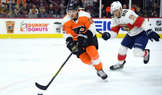 Here Comes Nolan Patrick, Just in Time for Flyers