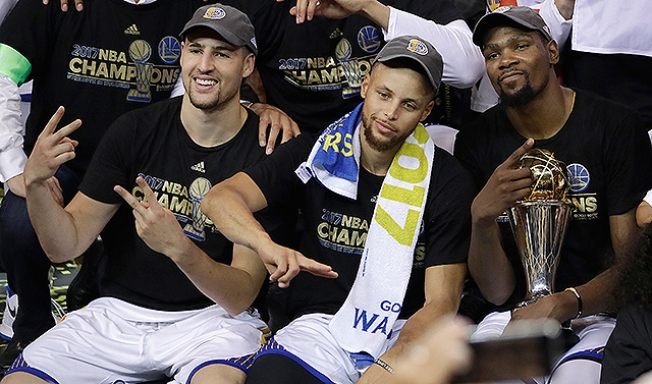 NBA Finals: Kevin Durant, Warriors Finish Off Cavaliers to Capture Title
