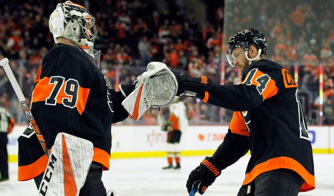 Flyers 6, Ducks 2: Loud Start Pushes Point Streak to 10 Games
