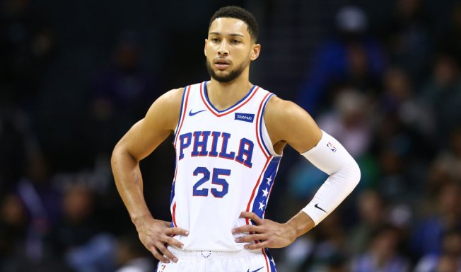 Ben Simmons Out Vs. Nuggets While Dealing With Shoulder Injury