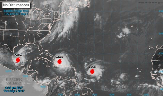 Glenn 'Hurricane' Schwartz's Blog: Irma, Harvey & Climate Change