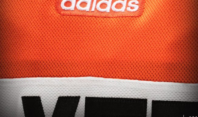 Flyers Offer Another Quick Tease of New Adidas Jerseys