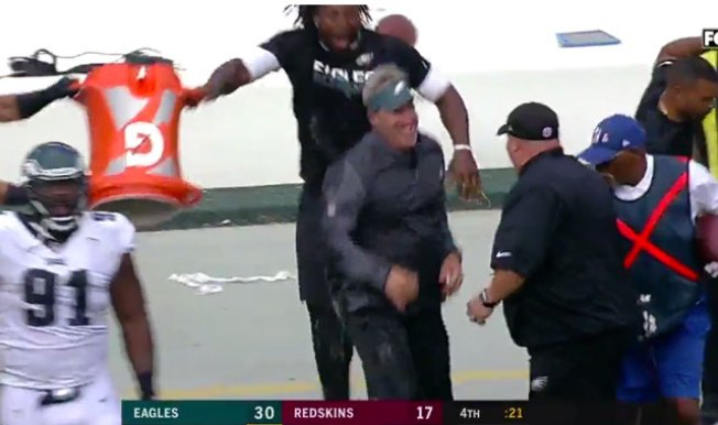 Gatorade Doug Pederson Eagles Gave Shower Week