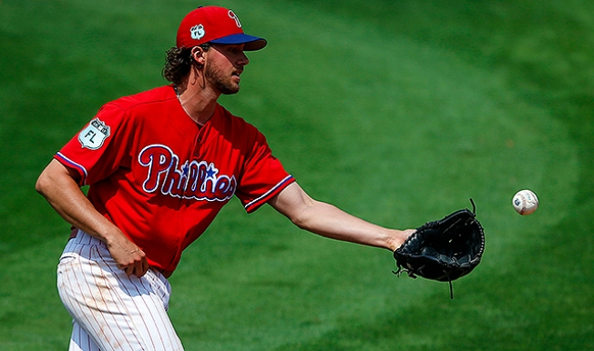 Phillies place Aaron Nola on the disabled list