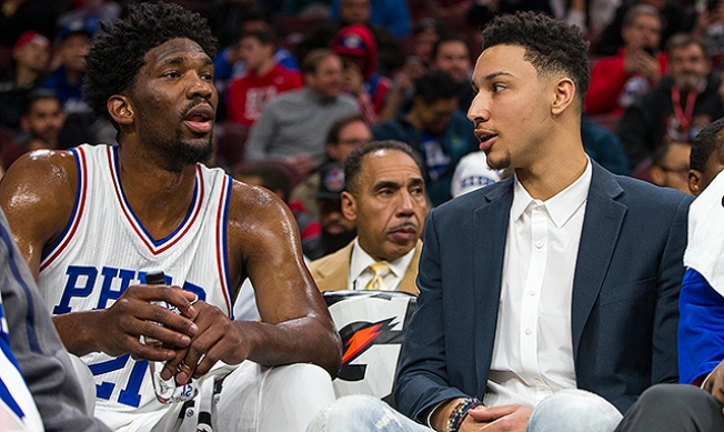 Joel Embiid, Ben Simmons Will Not Participate in NBA Summer League