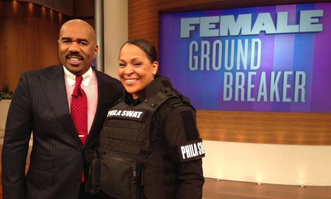 Philly Police S.W.A.T. Member Breaks Ground