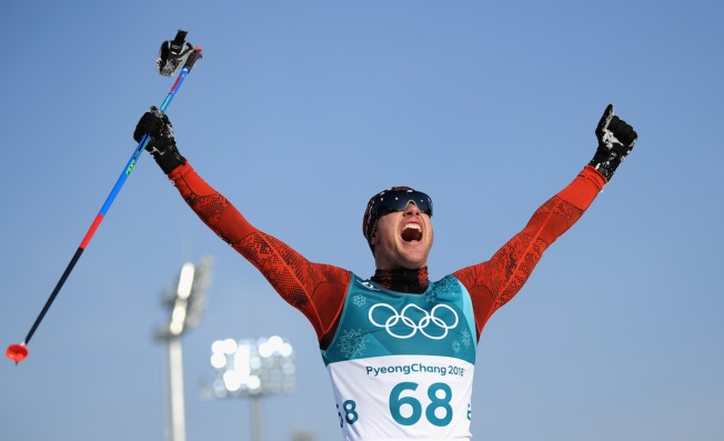 Switzerland's Cologna Wins Cross-Country Gold