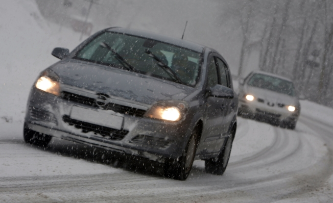 Roads Slippery as Rain, Snow, Sleet Move Out