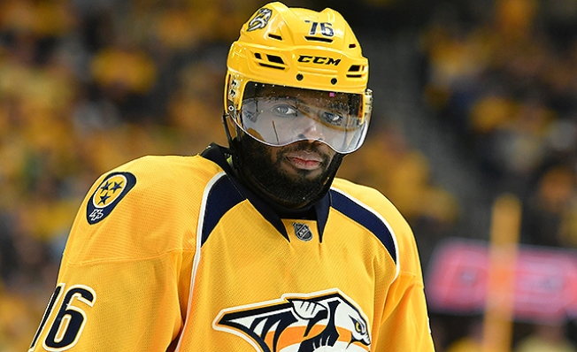 NHL Notes: Predators' P.K. Subban Fined $2,000 for Embellishment