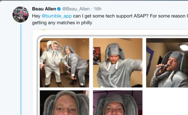 Beau Allen's Dating App Profile Is Hilarious