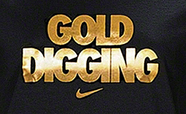 "Nike's ""Gold Digging"" T-Shirt Stirs Controversy"