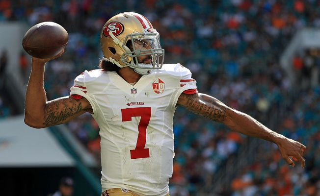 NFL and Kaepernick Still at Odds Over Workout Opportunity