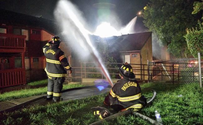 Dozens Left Homeless by New Jersey Apartment Fire