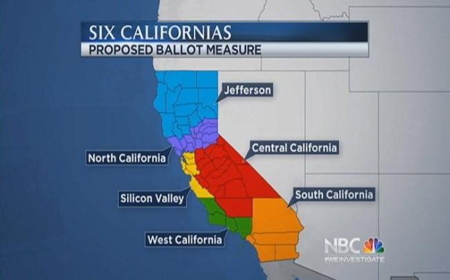 Venture Capitalist Proposing To Divide California Into 6 States