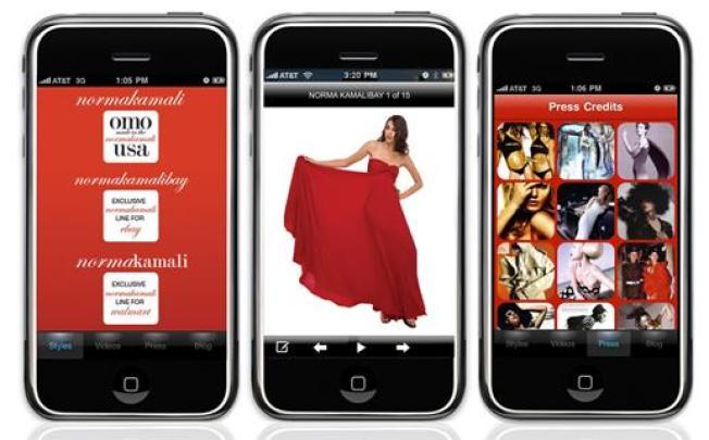 Norma Kamali Gets App'd