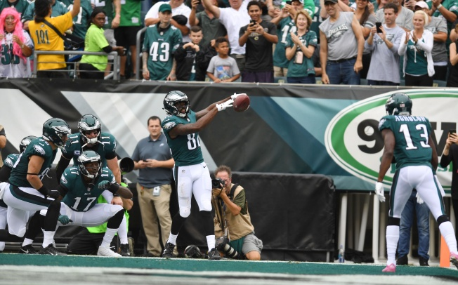Eagles Have Decisions to Make on Torrey Smith, Nelson Agholor