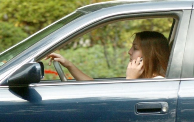 Hundreds Fined for Phoning & Driving