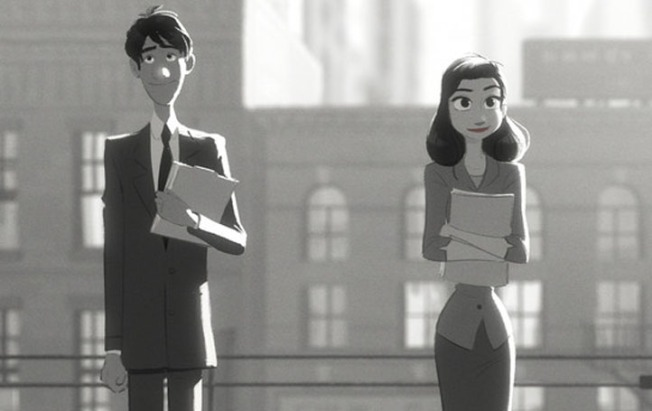 "Oscars: ""Paperman"" Producer Booted Out for Throwing Paper Planes After Movie Wins Best Animated Short"