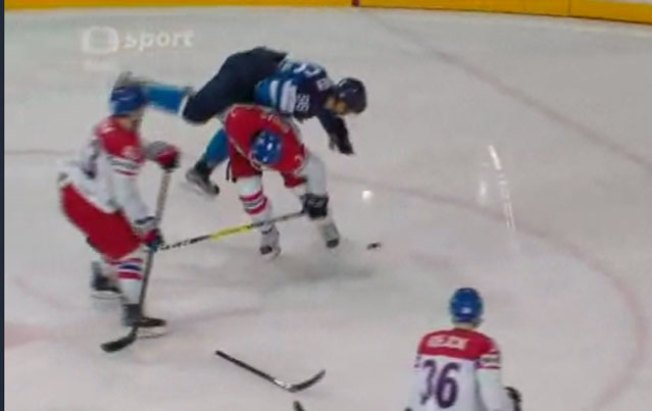 Radko Gudas Has No Chill, Destroys Rantanen in World Champs