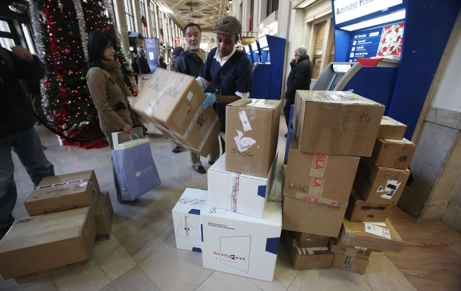 Postal Service Eyes Next-Day Sunday Delivery for Holidays