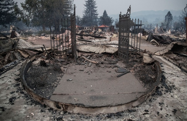 Northern California Wildfires Spared Vineyards But Left Some Workers Homeless