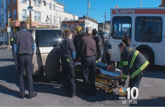 10 Injured in SEPTA Bus Accident