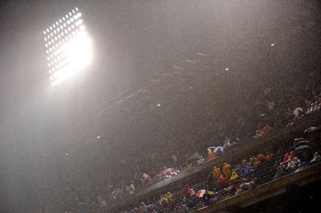 Inside Weather: Warm, Rainy World Series