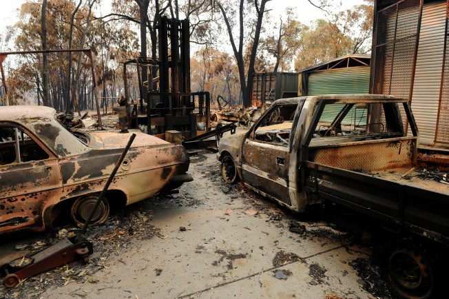 Suspect Charged in Deadly Australian Fire