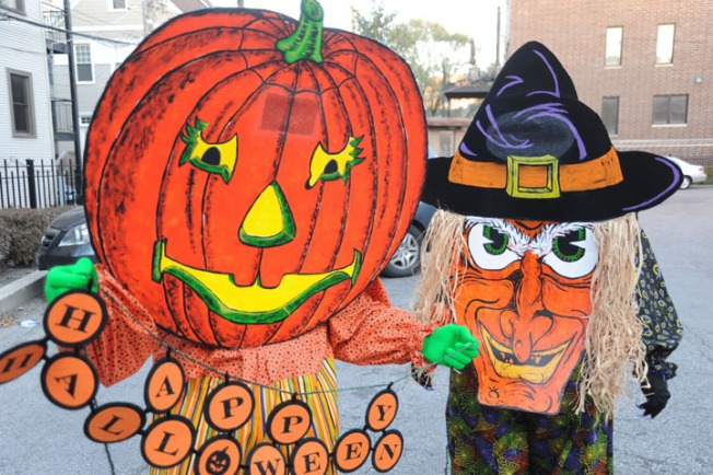 Town Moves Large Halloween Parade