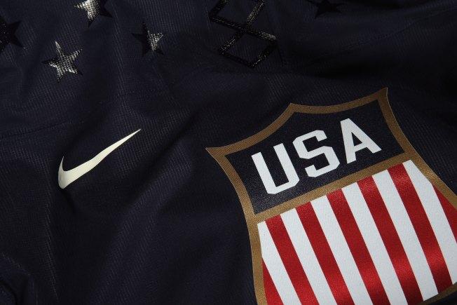 USA Hockey Unveils 2014 Olympic Jerseys