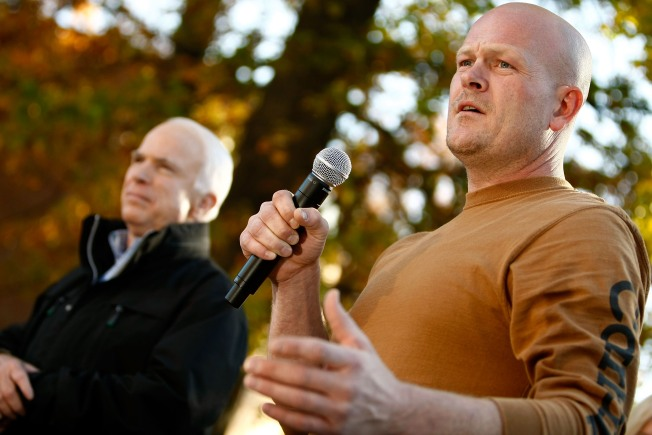 """""""Joe the Plumber"""" Flushes McCain for Bailout Support"""