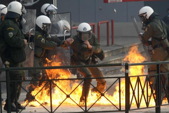 Widespread Riots in Greece After Cops Slay Teen