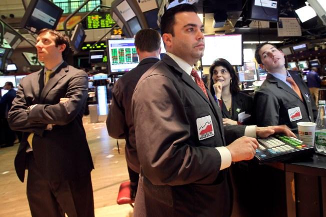 Weak Treasury Sends Stocks Down