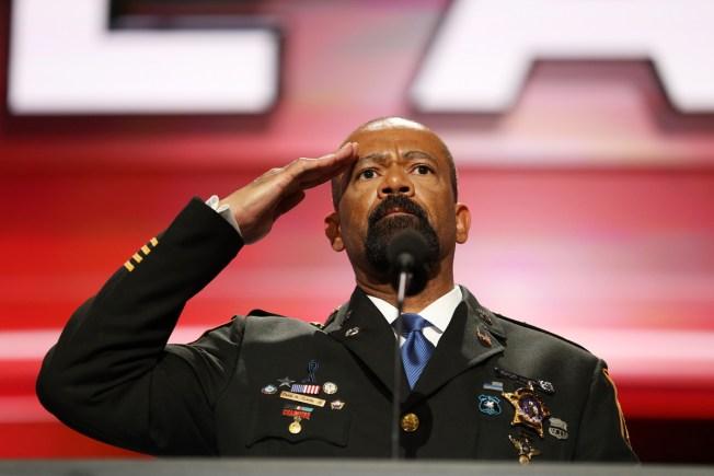 Milwaukee Sheriff Clarke Takes Job With Homeland Security