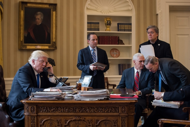 After Weeks of Missteps, Nervous Trump Aides Hope for a Reboot