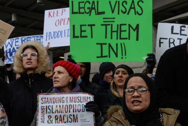 [NATL] Trump Immigration Order Triggers Protests Across US