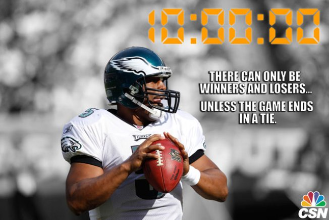 The NFL Shortened Overtime to 10 Minutes and People Want to Make Sure Donovan McNabb Knows