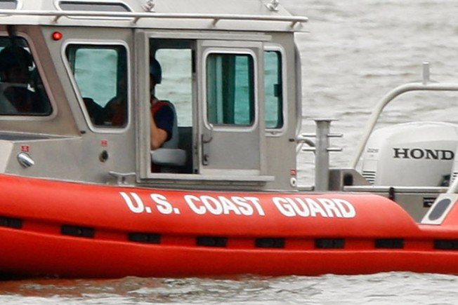 Coast Guard Rescue 5 from Sinking Boat