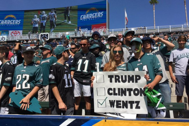 Eagles Fans Travel So Well, Rams Have to Gameplan for It at Home