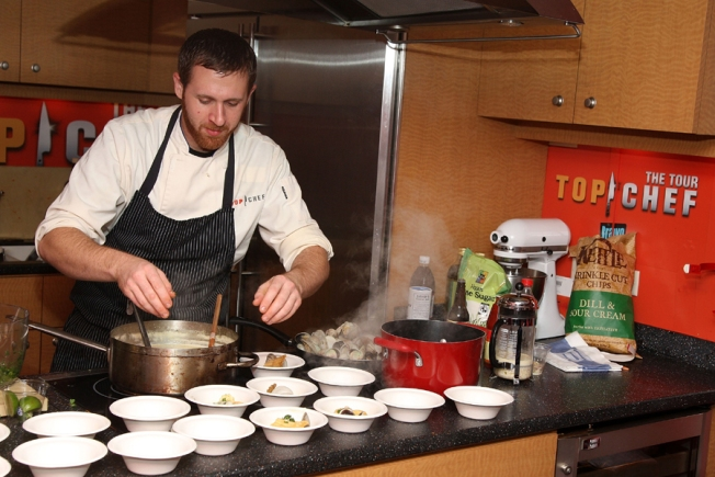 Stephen 'Starr's on 'Top Chef'