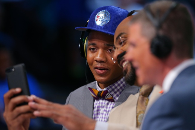Fultz on Embiid: He's 'texted Me 75 Times' Since This Weekend