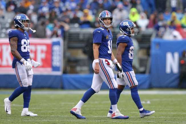 Around the NFC East: Barkley and Beckham Can't Overcome Eli