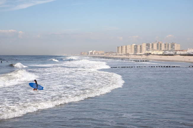Warm Water Comes Early to the Jersey Shore