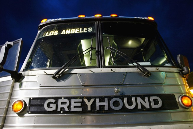Video Shows Greyhound Driver Using Phone While Driving