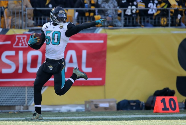 Jacksonville pulls off upset over Steelers in AFC