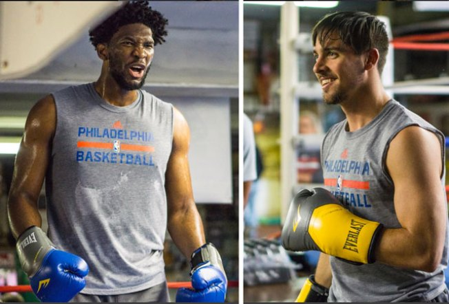 Which Sixer Would Make the Best Villain in a 'Creed' Sequel: Embiid Or TJ?