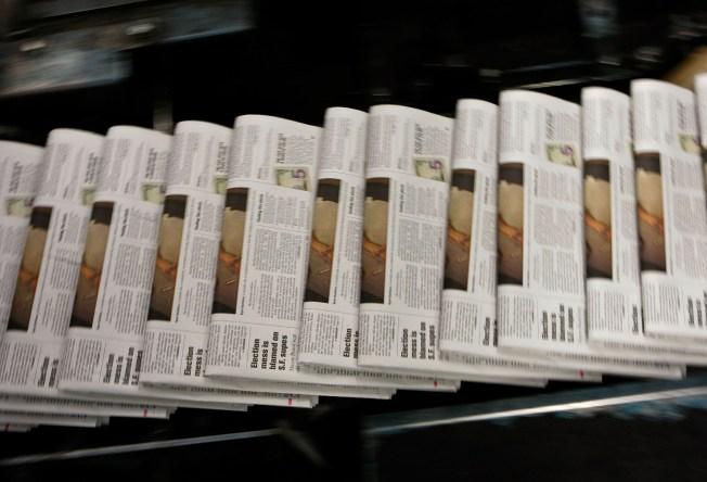 San Diego Union-Tribune Cuts 192 Staff Positions