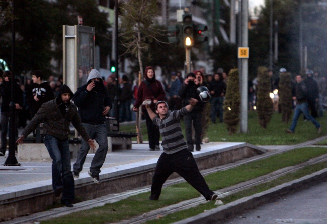 Greece Gripped by Fourth Day of Riots
